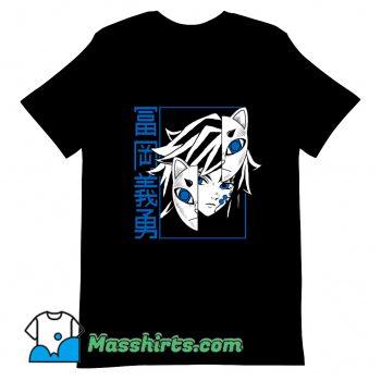 Tomioka Giyuu Anime T Shirt Design