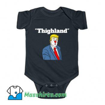 Trump Thighland Baby Onesie
