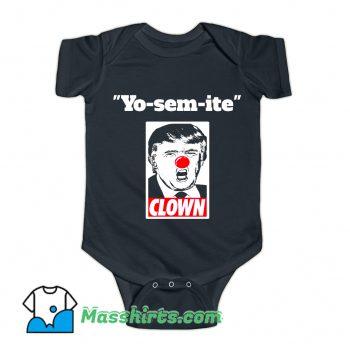 Trump Yosemite Baby Onesie