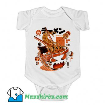 X-ray Great Ramen Baby Onesie
