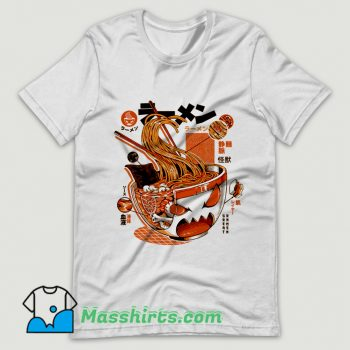 Cool X-ray Great Ramen T Shirt Design
