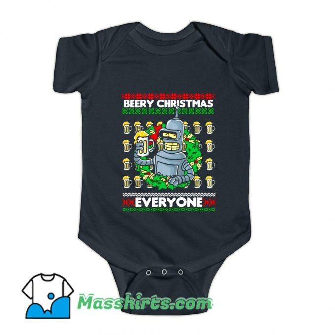 Beery Christmas Baby Onesie