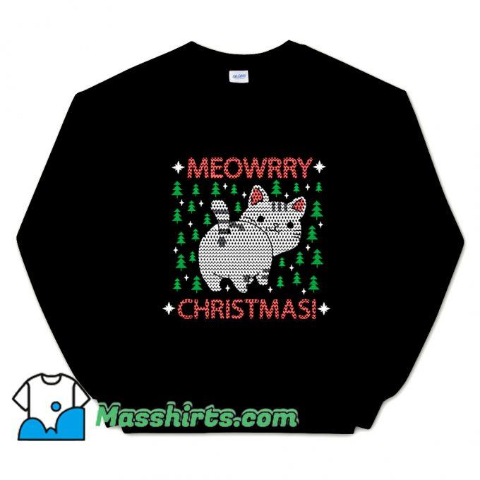 Meowrry Christmas Sweatshirt