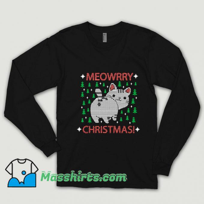 Cheap Meowrry Christmas Shirt