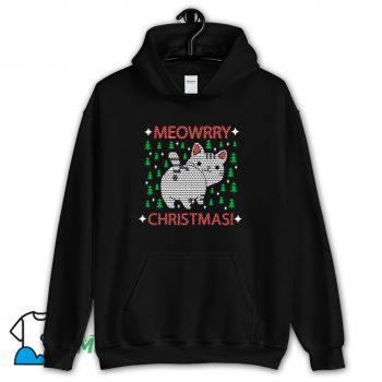 Meowrry Christmas Hoodie Streetwear