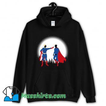 Patriota Vs SuperHombre Hoodie Streetwear