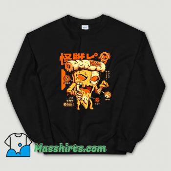 Cheap Horror Pizzazilla X-Ray Sweatshirt