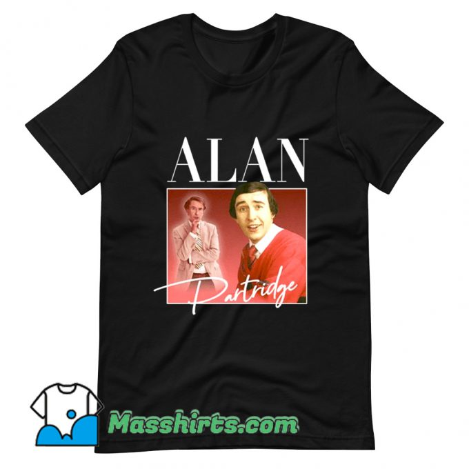 Alan Partridge Steve Coogan T Shirt Design
