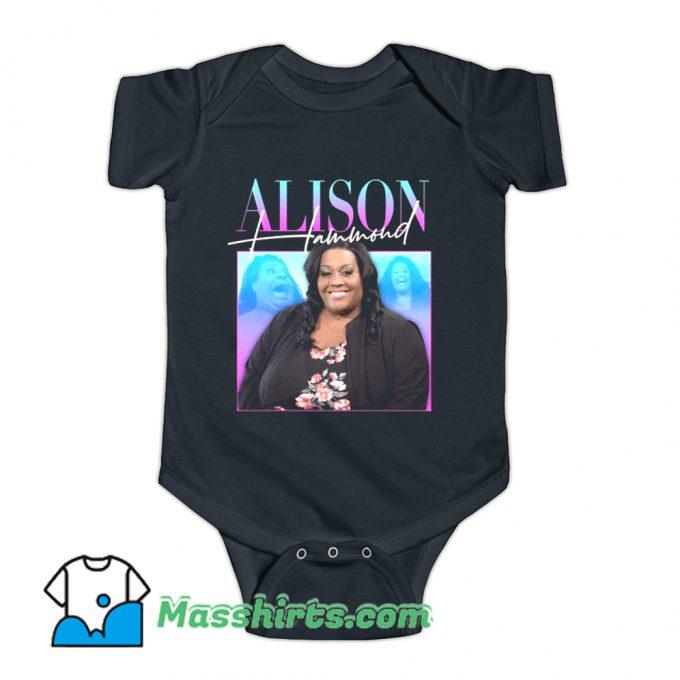 Alison Hammond This Morning Baby Onesie