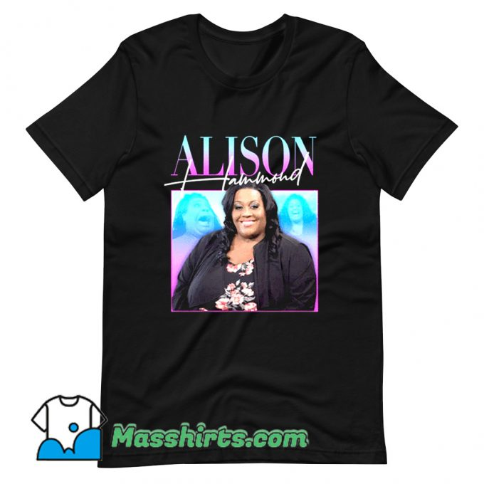 Alison Hammond This Morning T Shirt Design