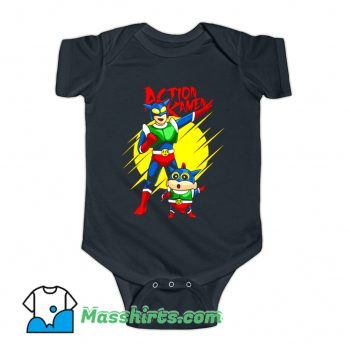 Anime Action Kamen Baby Onesie