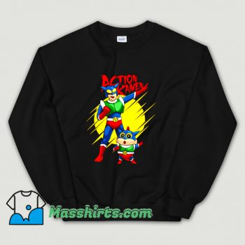 Anime Action Kamen Sweatshirt