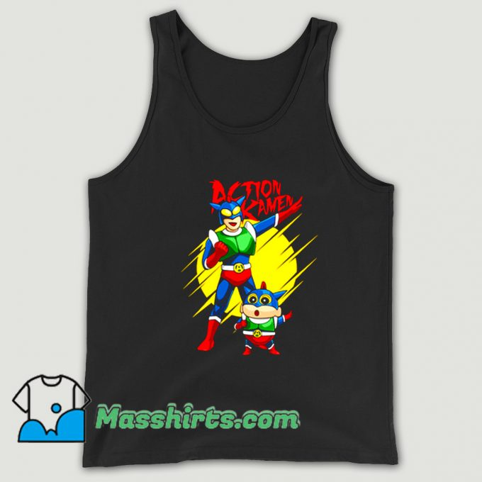 Awesome Anime Action Kamen Tank Top