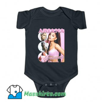 Ariana Grande Rapper Baby Onesie