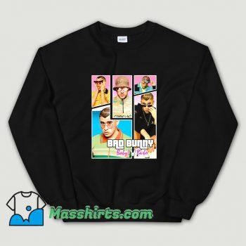 Cool Bad Bunny Maluma Ozuna Rapper Sweatshirt