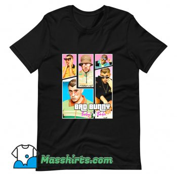 Bad Bunny Maluma Ozuna Rapper T Shirt Design