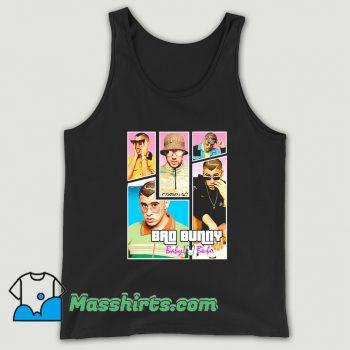 Bad Bunny Maluma Ozuna Rapper Tank Top On Sale