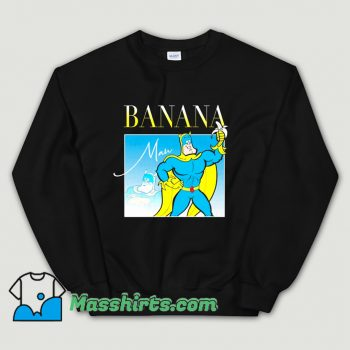 Bananaman 80s Retro Cartoon Sweatshirt