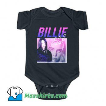 Billie Eilish American Singer Baby Onesie
