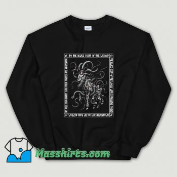 Cheap Black Shub Icon Azhmodai Sweatshirt