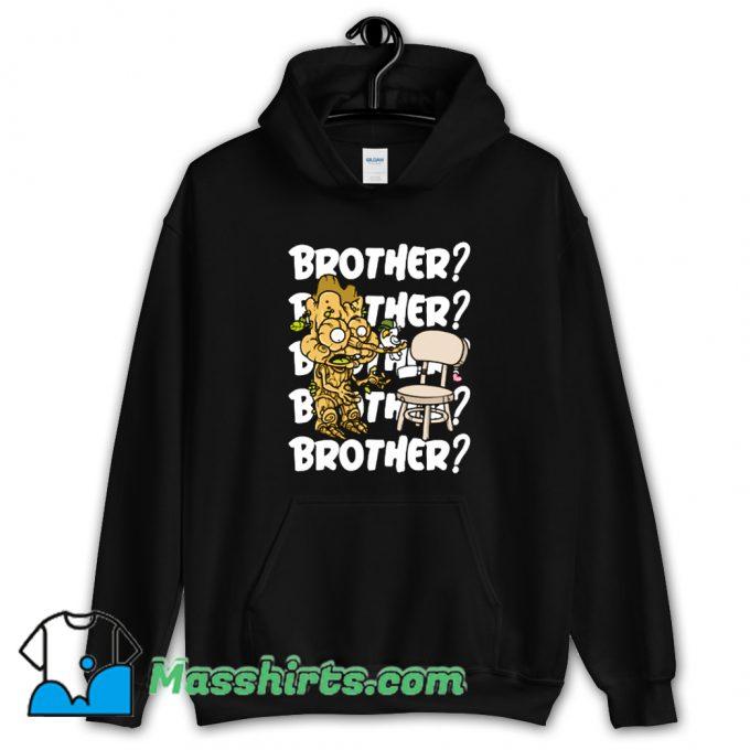 Original Brother Cartoon Hoodie Streetwear