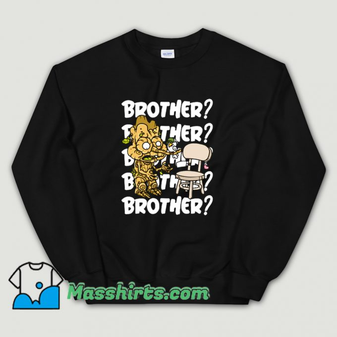 Cheap Brother Cartoon Sweatshirt