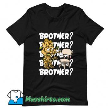 Official Brother Cartoon T Shirt Design