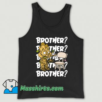 Original Brother Cartoon Tank Top