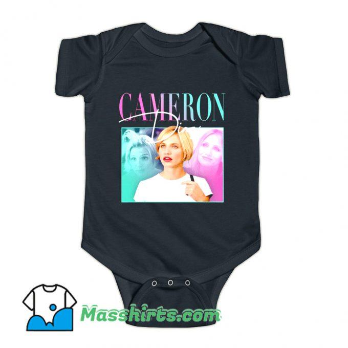 Cameron Diaz Baby Onesie