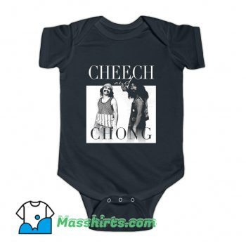 Cheech and Chong 80s Movie Baby Onesie