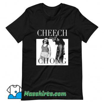 Original Cheech and Chong 80s Movie T Shirt Design