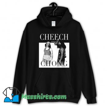 Funny Cheech and Chong 80s Movie Hoodie Streetwear