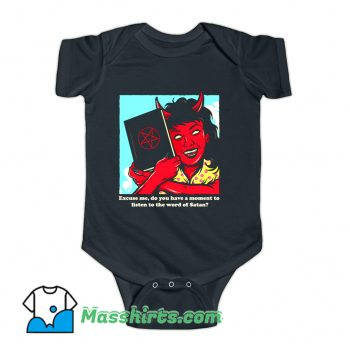 Excuse Me Horror Baby Onesie