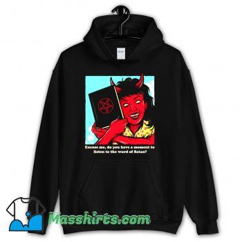 Classic Excuse Me Horror Hoodie Streetwear