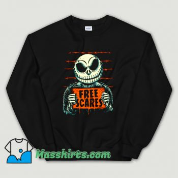 Cheap Horror Free Scares Sweatshirt