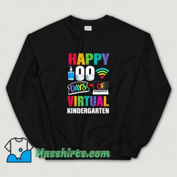 Classic Happy 100 Days Of Virtual Sweatshirt