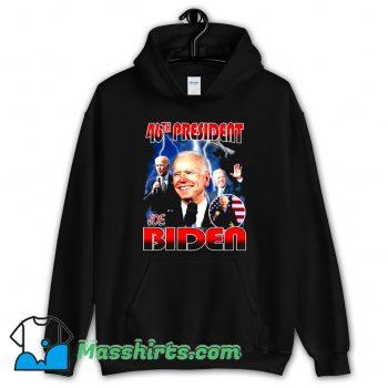 Joe Biden 46th President Hoodie Streetwear