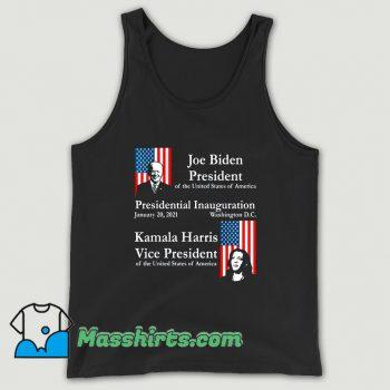 President Joe Biden Kamala Harris 2021 Tank Top