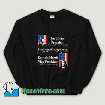 Cheap Joe Biden Kamala Harris 2021 Sweatshirt
