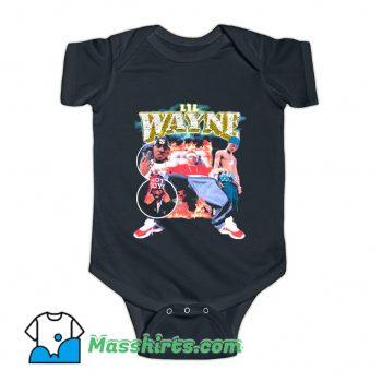 Lil Wayne 90s Rap Baby Onesie