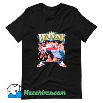 Cheap Lil Wayne 90s Rap T Shirt Design