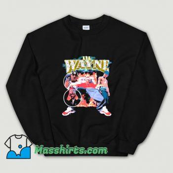 Funny Lil Wayne 90s Rap Sweatshirt