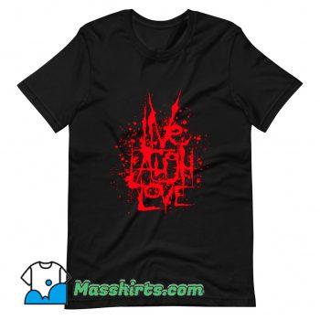 Cheap Live Laugh Love T Shirt Design