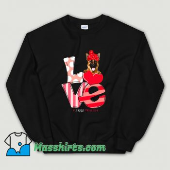 Cool Love German Shepherd Sweatshirt