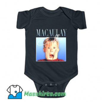 Macaulay Culkin Home Alone 90s Movies Baby Onesie