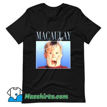 Funny Macaulay Culkin Home Alone T Shirt Design