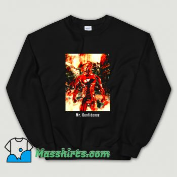 Cartoon Comic Mr. Confidence Sweatshirt