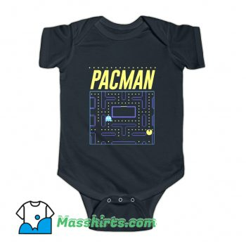 Pac-Man Gaming 80s Retro Baby Onesie