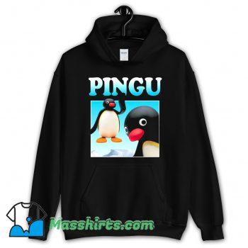 Official Pingu Retro 80s Hoodie Streetwear