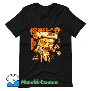Cool Pizzazilla X-Ray T Shirt Design
